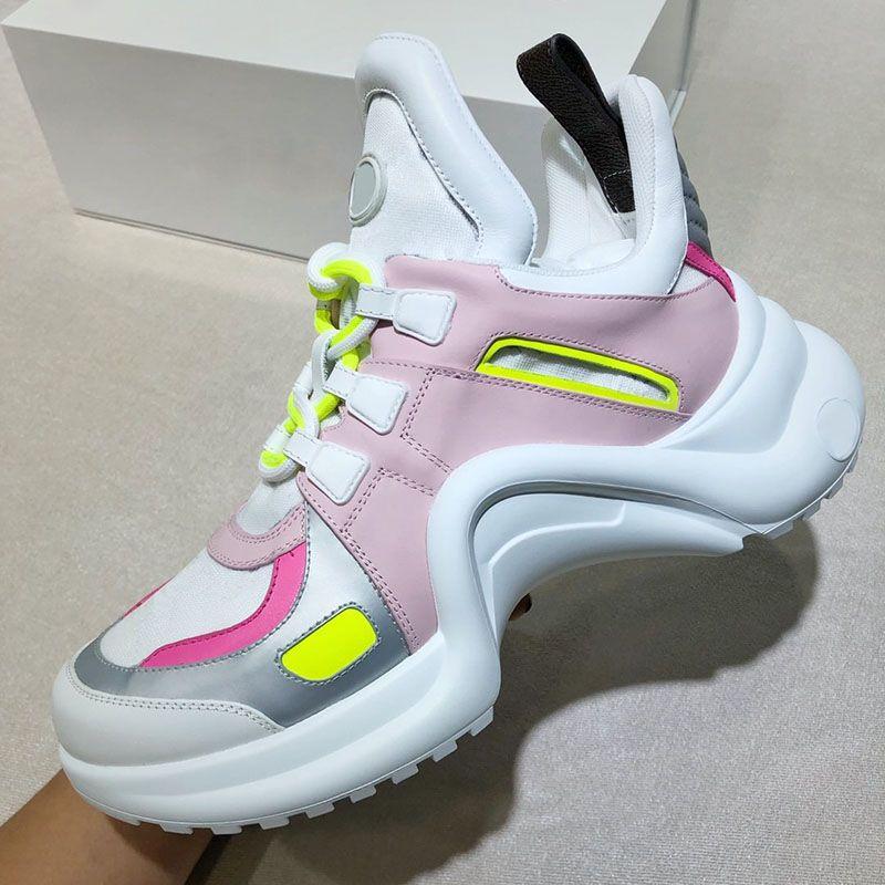 최신 디자이너 신발 럭셔리 패션 브랜드 여성 운동화 최고 품질 캐주얼 구두 크기 35-40 모델 CL15