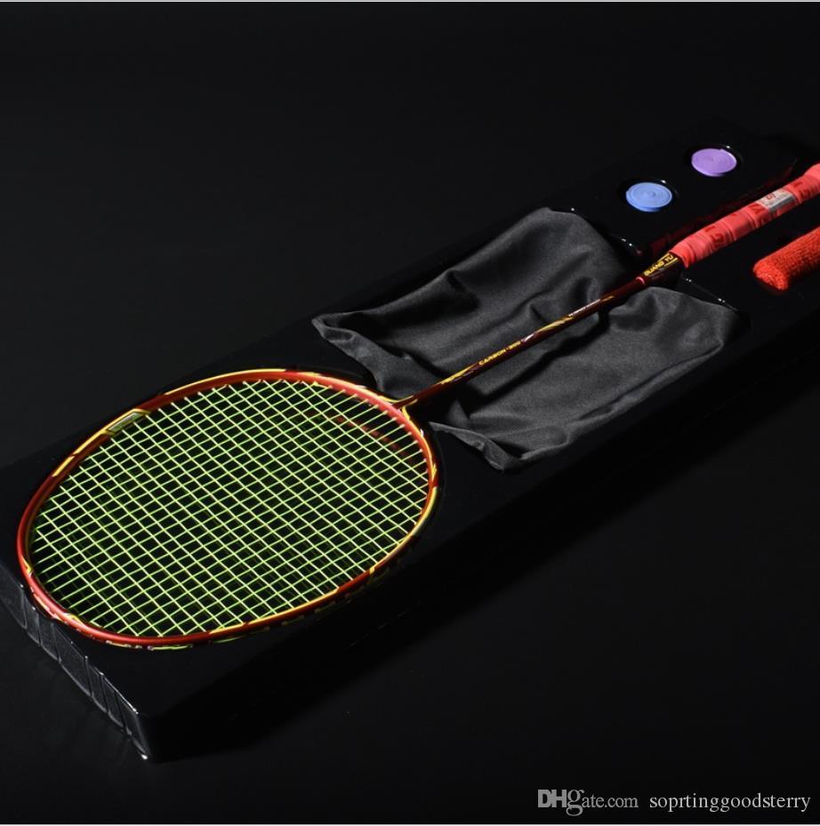 Оптовая бадминтонная ракетка подлинная Гуан Юй 4U нападения и обороны как игра обучение ракетка профессиональный ракетка один пакет
