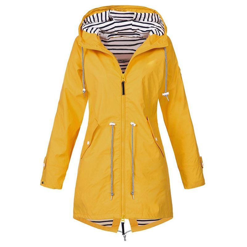New Women Sport Outdoor Clothing Jacket Lightweight Raincoat Autumn Winter Coat Camping Hiking Hooded Jacket Waterproof Windbreaker