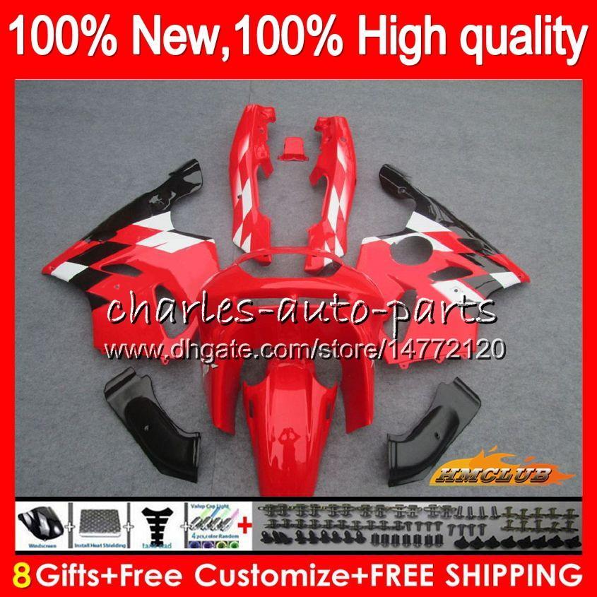 Corpo per Kawasaki ZX 636 600cc ZX636 fabbrica rosso ZX6R 94 95 96 97 50HC.13 ZX636 ZX6R ZX600 ZX 6 R 6R 1994 kit 1995 1996 1997 completa carenatura