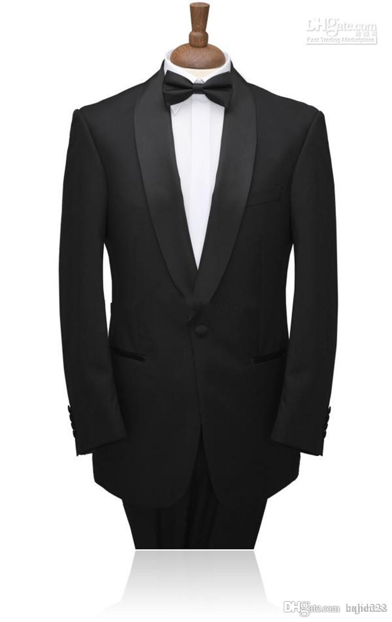 Novo Single-Breasted Personalizar Noivo Smoking Xaile Lapela Melhor Homem Ternos (Jacket + Pants + Tie) 137