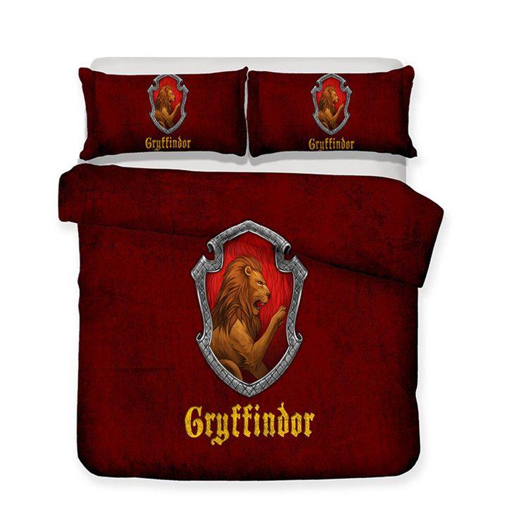 Copripiumino Harry Potter.Harry Potter Design Bedding Set Cosmetics Duvet Cover Set Of