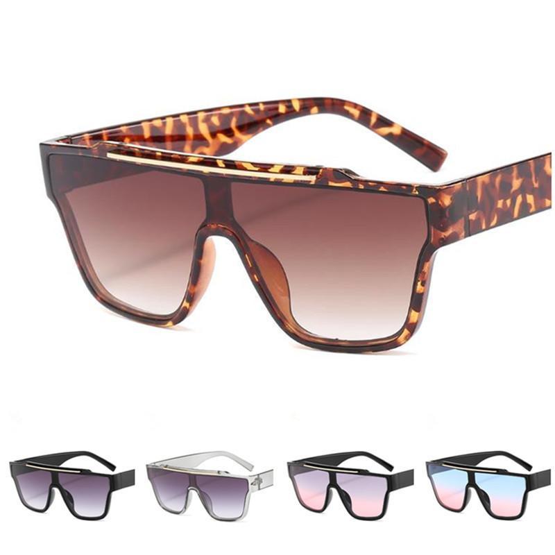 Мода Женщины Мужчины солнцезащитные очки Личность Сиамские объектива ВС Glasse очки Anti-UV зрелищ Негабаритные кадров Оправы Adumbral A ++