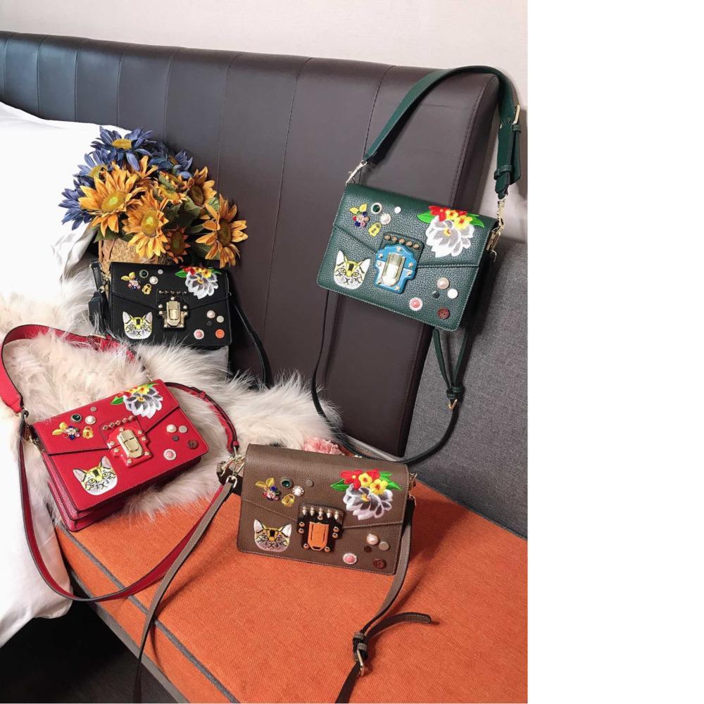 Les femmes sac taille de sac à main d'épaule de haute qualité 25 * 18cm coffret cadeau exquis WSJ007 # 121130 kaiyi5210