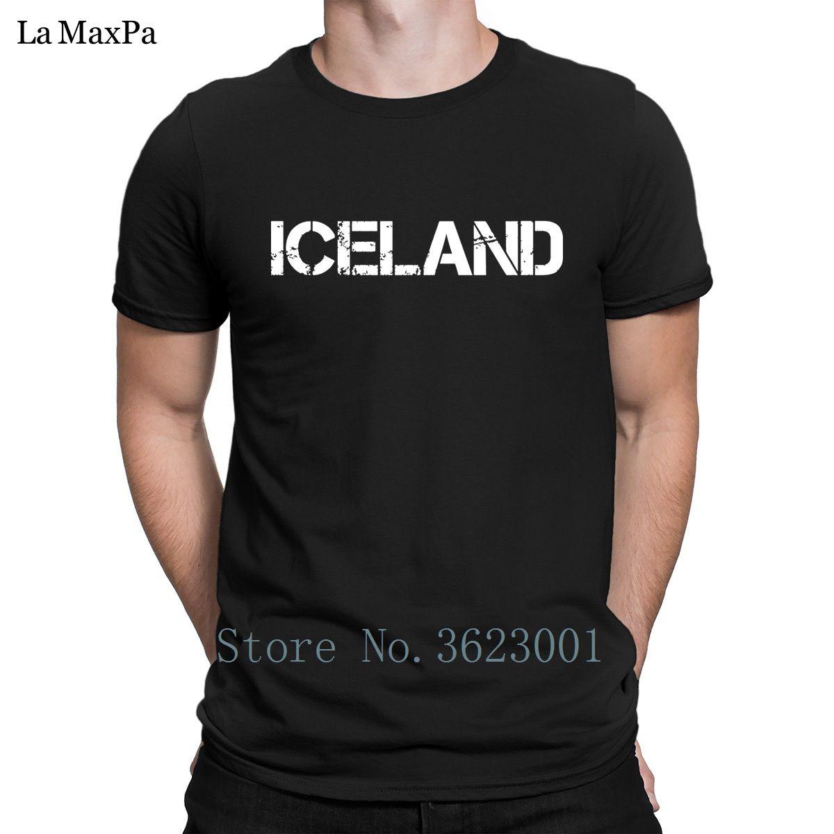 The New Formal Mens T Shirt Costume Islândia T-shirt básico Slim Fit Camiseta Homem Euro Tamanho camiseta solta