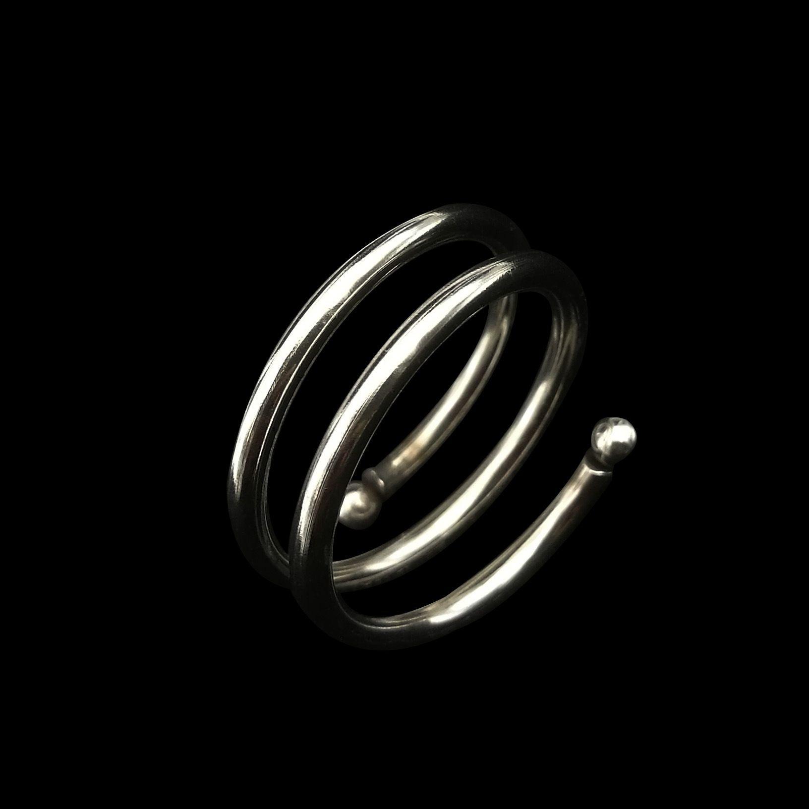 Europa al titanio di vendita calda anello elastico anello in acciaio inox formato all'ingrosso UE da 6 a 11