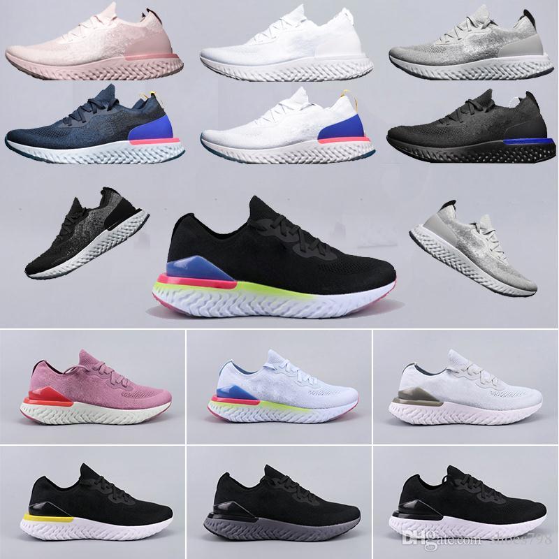 nike,Flyknit Epic React Anında Gitmek Fly erkekler kadınlar koşu ayakkabıları nedensel mesh Nefes spor Atletik tasarımcı sneakers