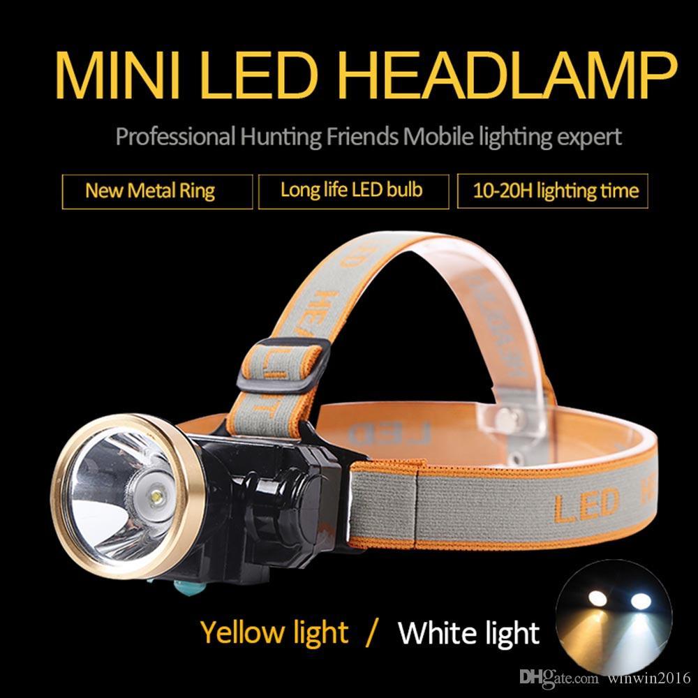Mineiros 3W Mini Miners Lamp LED Farol de lítio sem fio Cap Lamp recarregável Farol de trabalho ao ar livre Atividades