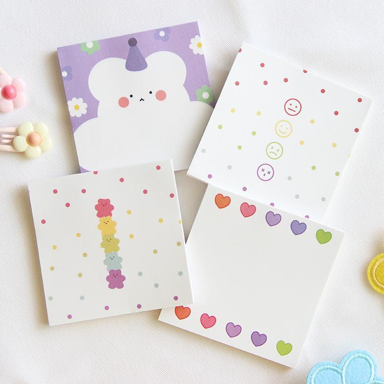 Cartoon Unicorn Nice Memo Pad N Times Sticky Notes  School Supply Hot