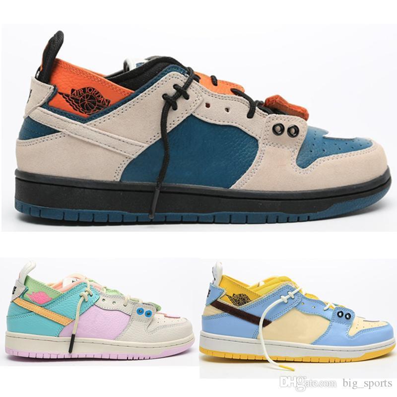 2020 Yeni Dunk SB Düşük Pro Kiks x EJDER Kadınlar Spor Kadınlar Sneakers Eğitmenler MODA GYM Ayakkabı Numarası 36-44 Running Casual Shoes