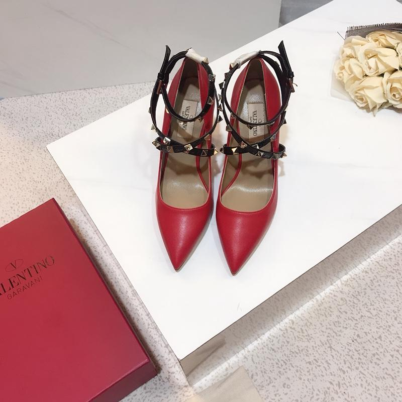 With box Fashion designer women shoes red bottom high heels 8cm 10cm Nude black red pink Leather Pointed Toes Pumps Dress shoe A1