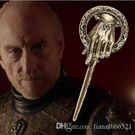 New Arrival Hot Selling Song of Ice and Fire Game of Thrones Hand Of The King Pin,Brooch Free Shipping HJ250