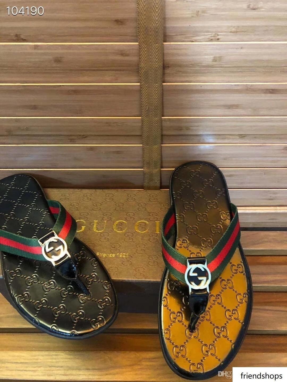 Été Arrived Flat Espadrilles Chaussures homme Sandales Casual caoutchouc Chaussons Flip Flop 38-45