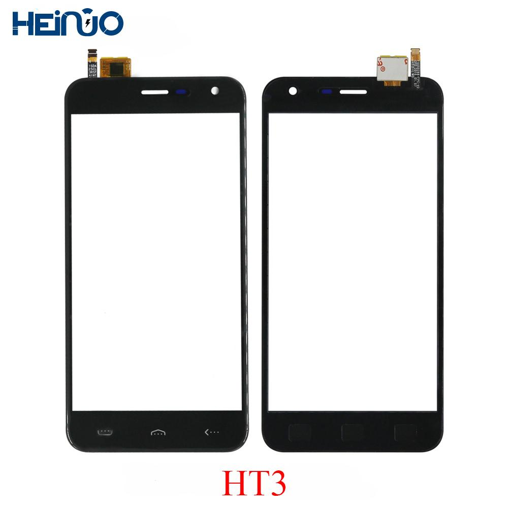 Original TP For Homtom HT3 Touch Panel Repair Parts Touch Screen Sensor Front Glass Lens Touchscreen Tela Replacement+3M Tape