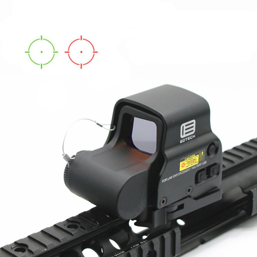 NEW 558 Holographic Red Green Dot Sight Tactical Rifle Scope Optic Sight Reflex Sight With 20mm Scope Mounts