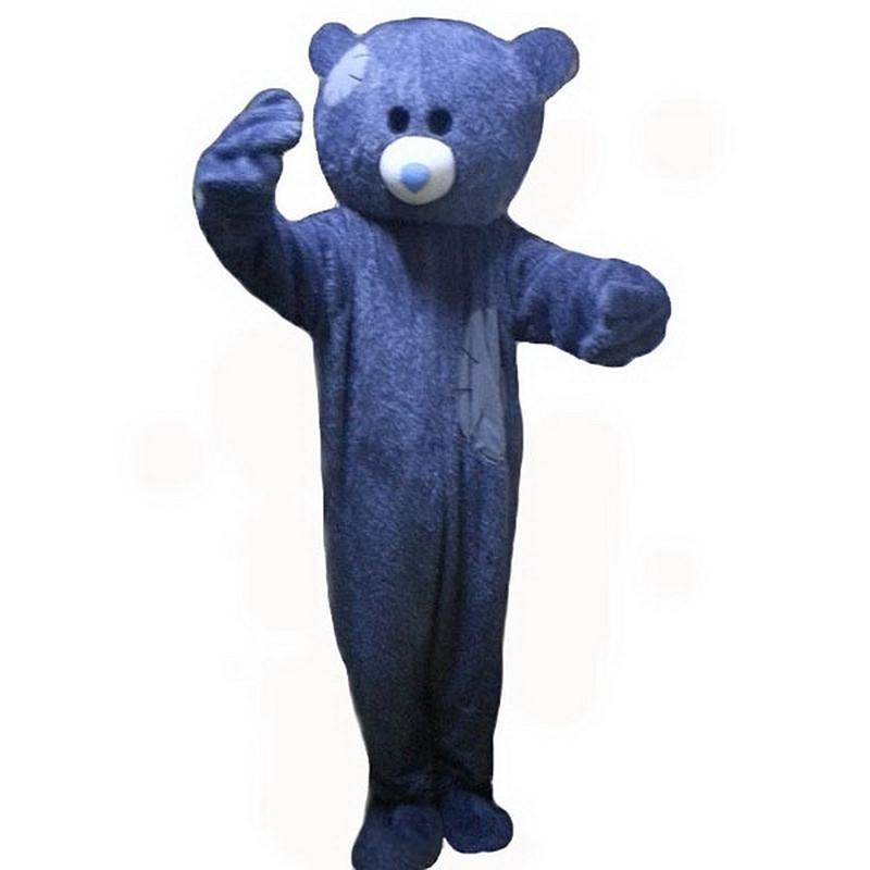 Mendicante orso del costume della mascotte dei cartoni animati di formato adulto Longteng (TM) 0.225.424