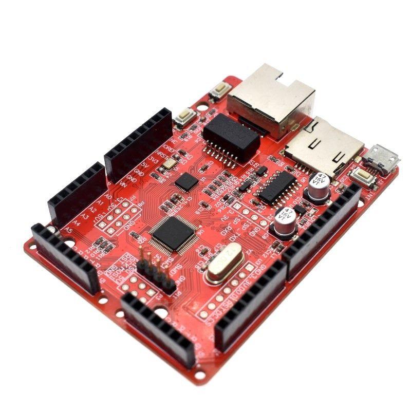 Freeshipping Wizwiki Chip W7500 Internet of Coisas Microcontrolador Development Board Braço Cortex-M0 para W5100 R / 3 Mega