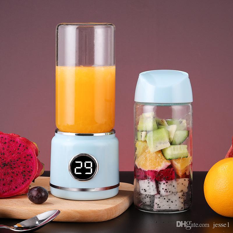 420ml ferramentas de cozinha mini juicer 2 xícara de frutas elétricas e legumes de moagem portátil máquina de suco recém espremido