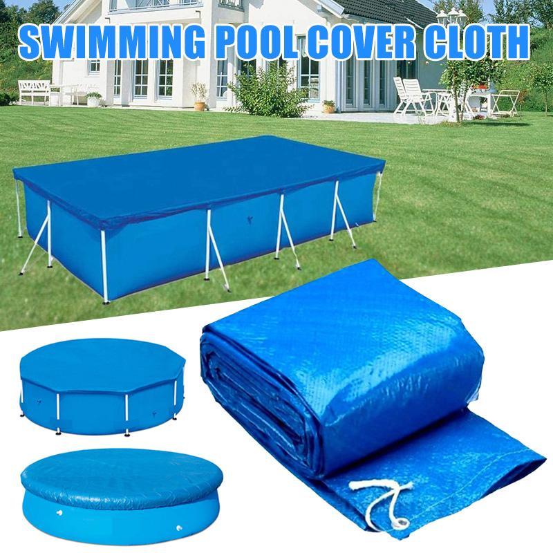 Yüzme UV dirençli Havuz Kapak Su geçirmez Toz Katlanabilir Yağmur suyu Bezi EDF88 Kapaklar