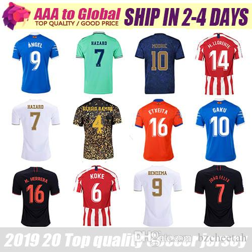 2020 Top Quality Football Shirts 2020 2021 Best Thai Jersey Moreno Angel Benzema Suarez Perez Griezmann Messi Discount Soccer Jersey From Bzcheetah 15 79 Dhgate Com