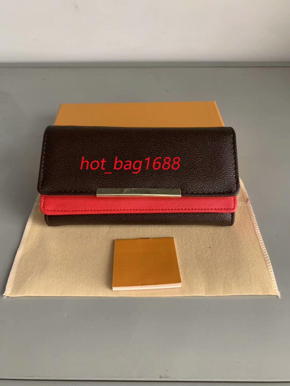 Atacado Bottoms Bottoms Long Long Wallet Multicolor Designer Moeda Card Card Caixa Original Caixa Mulheres Classic Zipper Bolso Venda Box