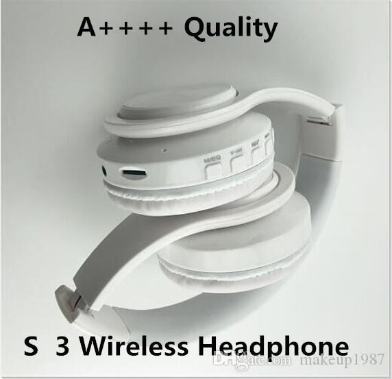 3.0 Wireless Headphone Stereo Bluetooth Headsets earbuds with Mic Earphone Support TF Card For iPhone Samsung Wholesale