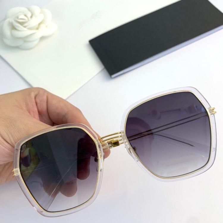 ElegLant Multi-Fash Star FreeShipping CH4158 2020 Солнцезащитные очки для солнцезащитных очков UV400 56-19-142 Легкий большой RIM Женщины Big-Rim Fullset Упаковка GSIA