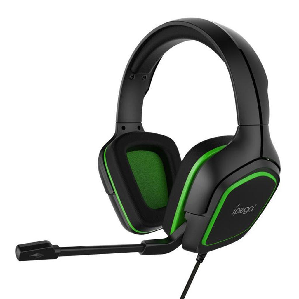 Tapando las orejas Gaming Headset con micrófono del Mic para PC