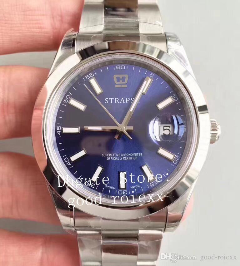 Erkek Erkekler Beyaz İsviçre EW Otomatik CAL.3235 Fabrika Katı 126334 Çelik Safir Band 126300 Tarih Dial Watch Perpetual Saatler Wristwatc XCVF