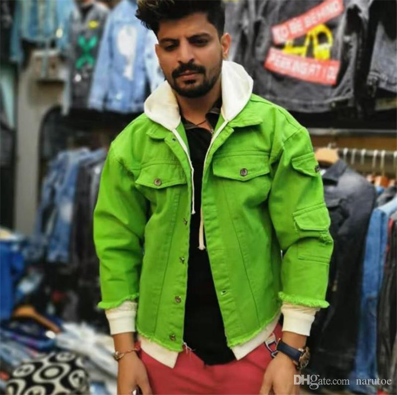 Nouveau vestes pour hommes Fashion Designer Solid Colors Lettre Partch Designs Jean Jackets Street Fashion style Mens Designer Jacket