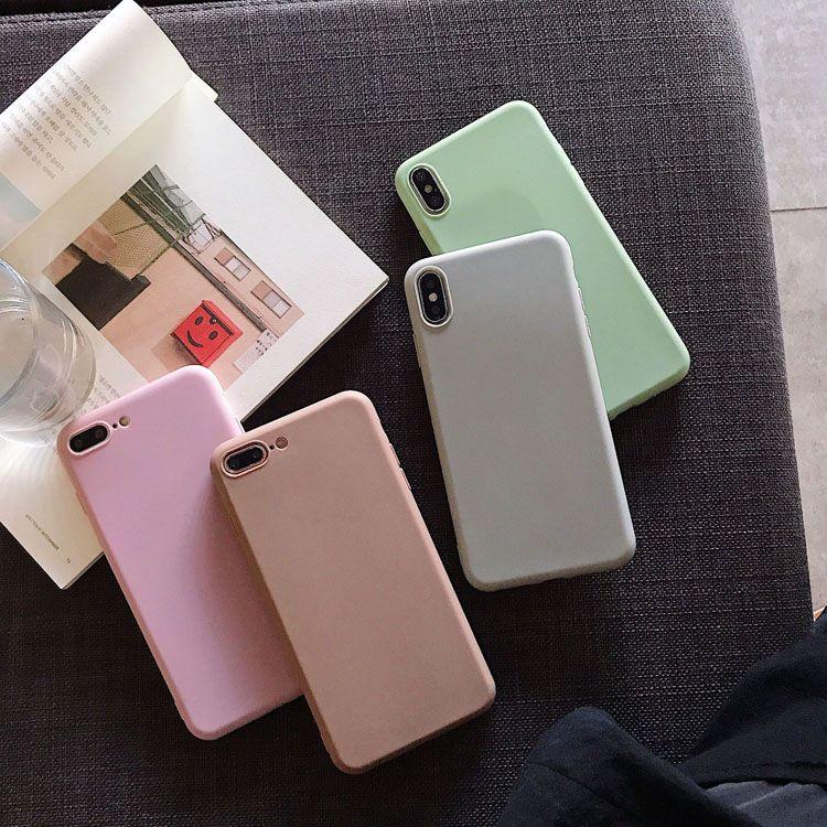 Großhandel bunte Verteidiger TPU material ultradünnes weiches silikongehäuse bunte tpu weiche hülle für iphone 7 8plus xr x max 11 pro