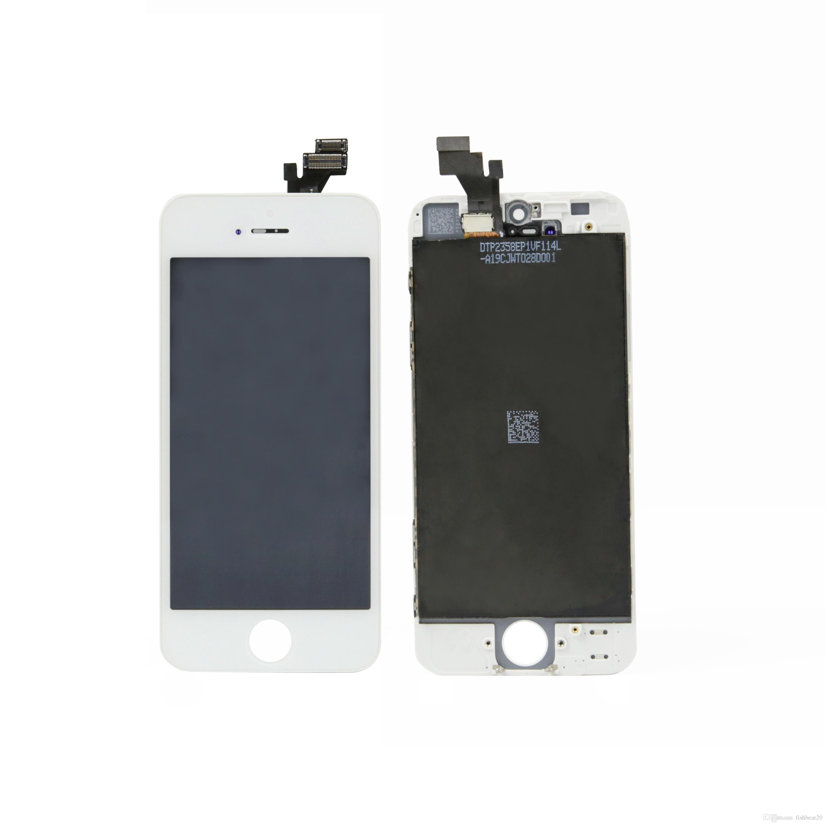 10 pcs Per Box LCD Screen For iPhone 5 5C 5S 5SE LCD Display Touch Screen Digitizer Assembly replacement