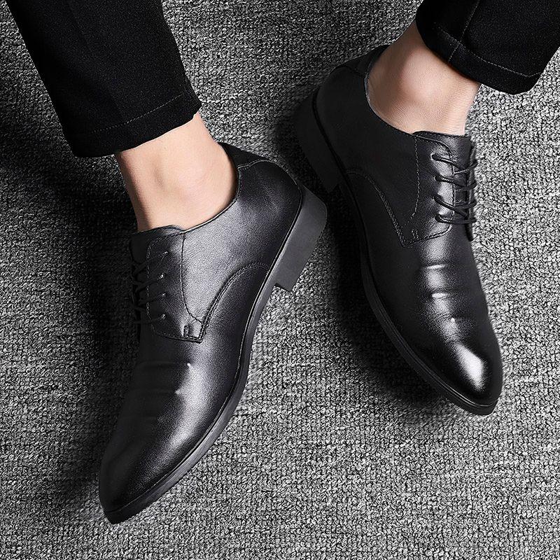 Plus Size 38-48 Herren Lederschuhe Herren-elegante formale Sozial Schuhe Herren Schuhe