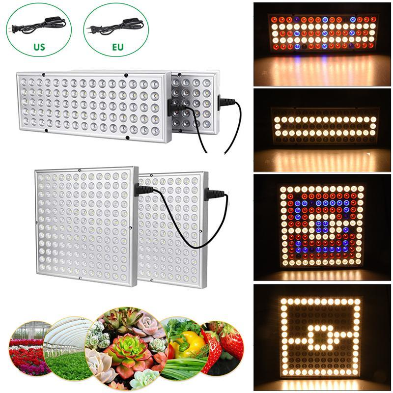 LED Crescer Light Sunshine Completo Spectrum Duplo Modos Ajustável Lâmpada Grow 25w 45W Luz da planta para plântulas de hidroponia interna