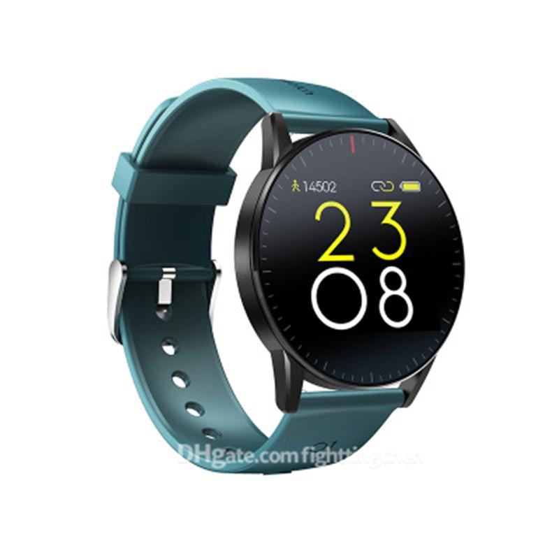 Pantalla color Ajustes reloj pulsera Control de las pulsaciones Paso Información del sistema IOS acecha Electrónica pulsera de los deportes multifunción