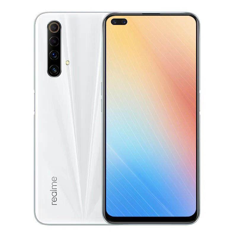 """Originale Realme X50M 5G LTE Mobile Phone RAM 8GB 128GB ROM Snapdragon 765 Octa core Android 6.57"""" Phone 48MP AI NFC Face ID di impronte digitali cellulare"""