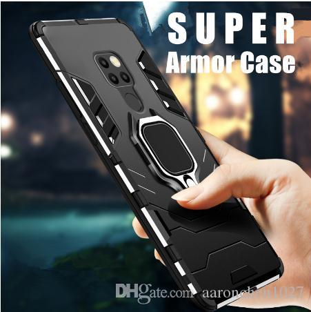 Armor Case For Huawei Mate 20 P30 P Smart Hybrid Hard PC TPU Silicone Shockproof Protective Cover For Huawei Mate 20x 20lite 20pro 10 9 Case