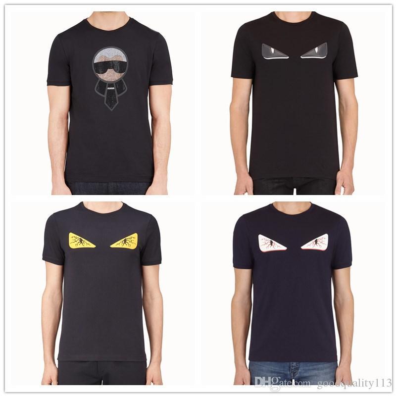 2020 Sommersport Luxus-Designer-Kleidung 20SS Box Logo Swaroovski Jahrestag T Männer Frauen Paar Sommer Art und Weise beiläufige Street T-Shirt