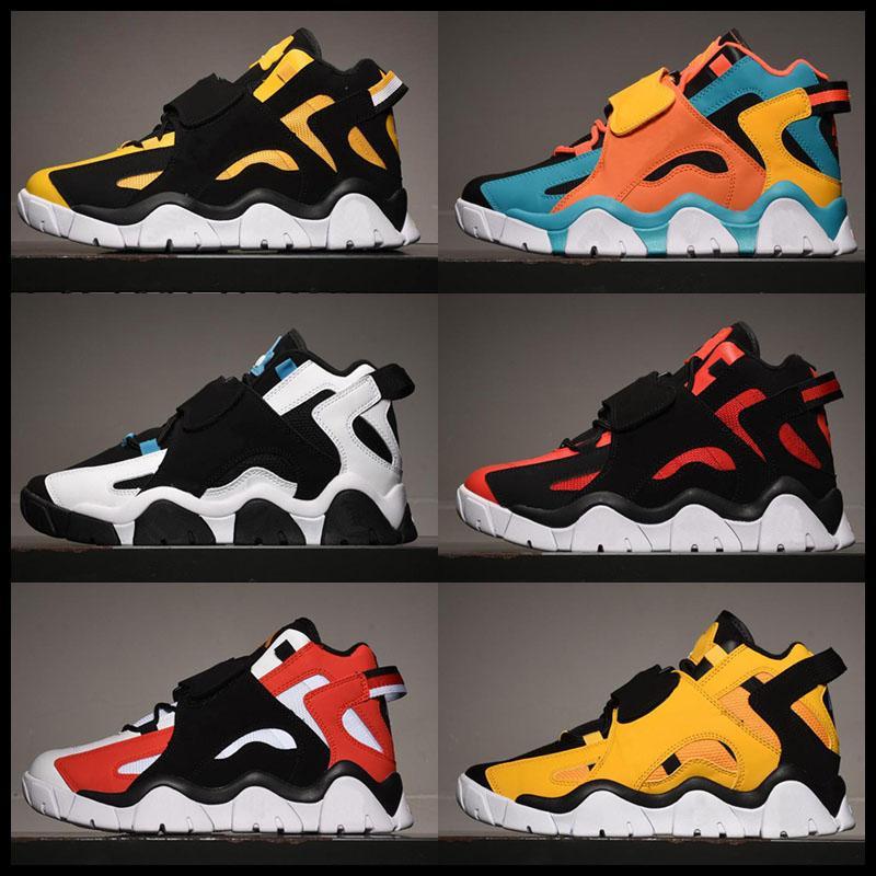 Top Qualité Hommes Basket Basketball Chaussures Barrage Mid QS Black HyperGrape Baskets Sports Sports Sports Sports