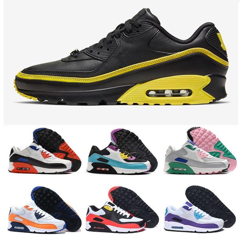 2020 New INVAINCUS x Coussin chaussures de course pour Hommes Femmes Noir Blanc Bleu Jaune Rouge sport Chaussures de sport Chaussures Baskets mode EUR 36-47