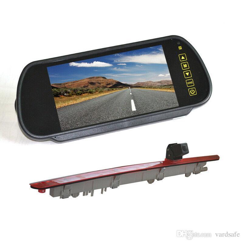 Car Parking Rear View Backup Reverse Camera + Mirror Monitor for Mercedes Benz Metris Vito Viano