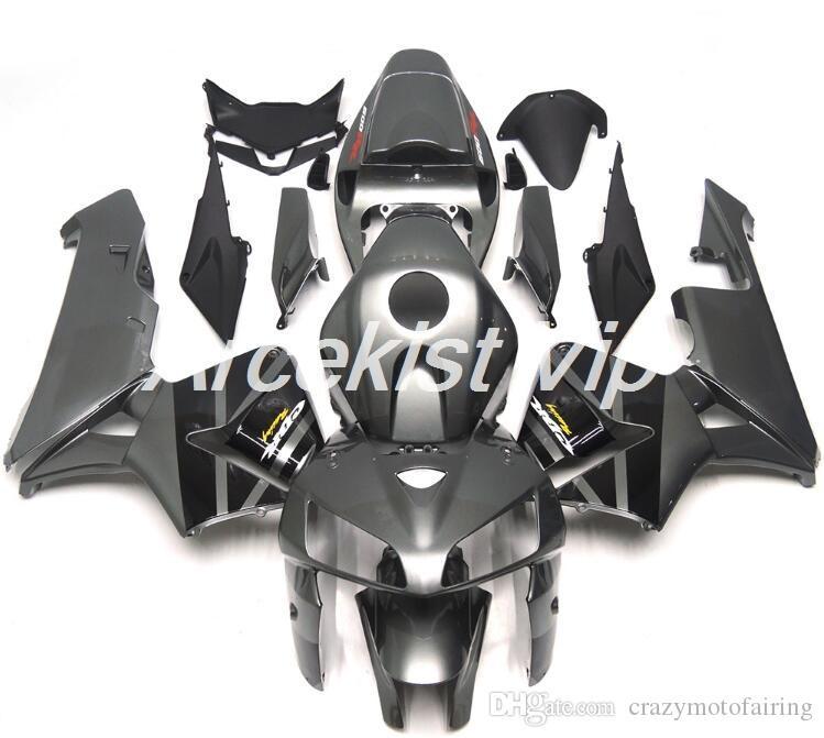 4Gifts новый ABS литья под давлением обтекатель мотоцикла комплекты 100% подходят для Honda CBR600RR F5 05 06 2005 2006 обтекатель кузова комплект серый