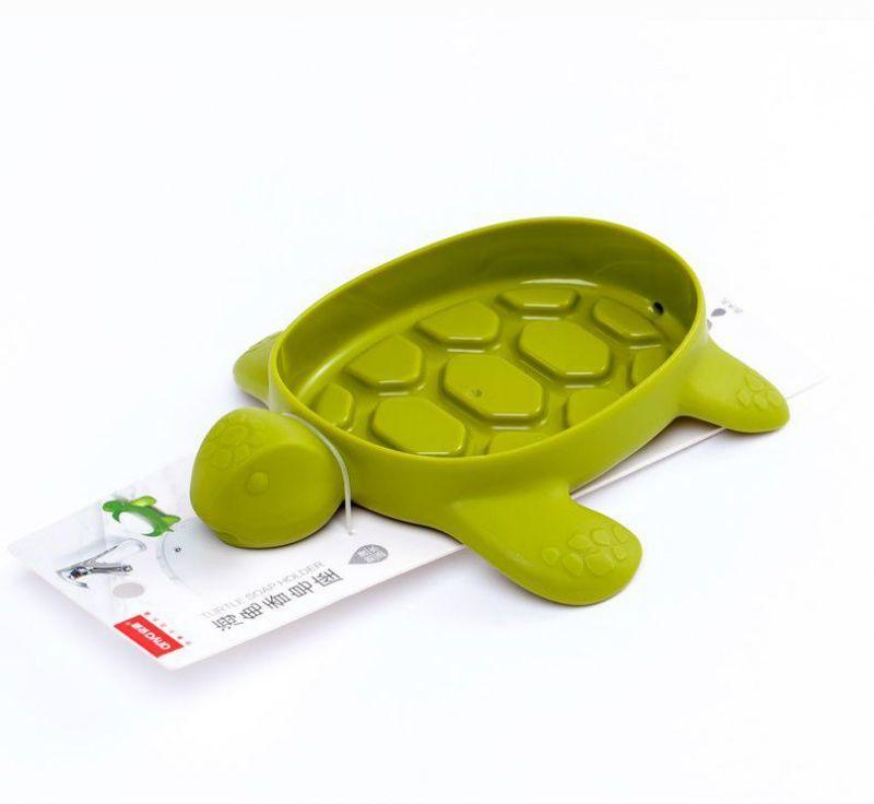 거북이 비누 접시 홀더 욕실 배수 상자 배수 창고 상자 주방 욕조 스폰지 저장 컵 랙 홀더