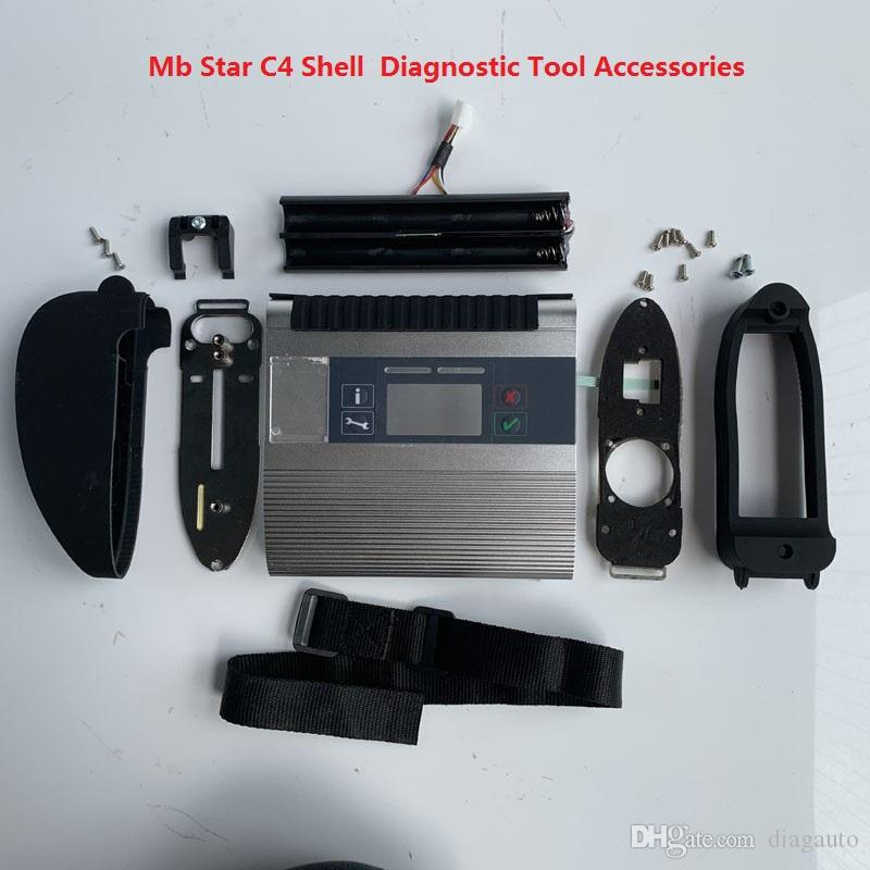 Hot Selling new Mb Star C4 SD Connect Compact 4 Shell Diagnostic Tool Accessories Free Shipping