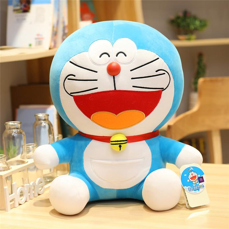 23-48cm Cartoon Anime Stand By Me Doraemon Plush Toys High Quality Cute Cats Dolls Soft Stuffed Animal Pillow for Baby Kids Gift