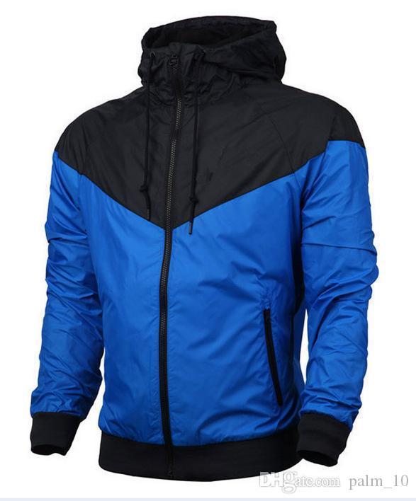 Yeni Adam İlkbahar Sonbahar Hoodie Ceket erkekler Kadınlar Spor Giyim WINDBREAKER Coats sweatshirt eşofman nakliye Sıcak Satış Ücretsiz