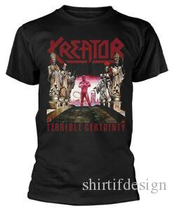 Kreator Terrible Certainty-T-Shirt NEW OFFICIAL