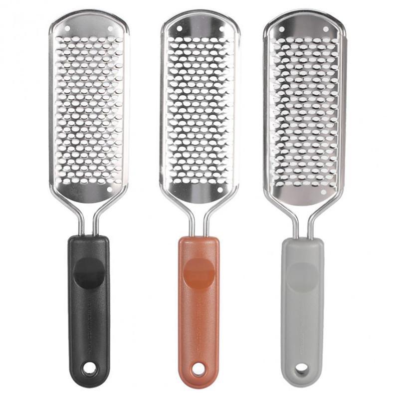 Vendita calda professionale in acciaio inox metallo cura del piede del prodotto 4 in 1 File di Pedicure di plastica a gettare del piede