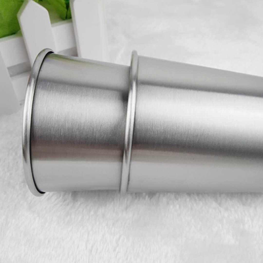 350ml Coupes en acier inoxydable 12 oz Pint tasses d'eau et Gobelets empilables Boire Incassable Coupes Livraison gratuite