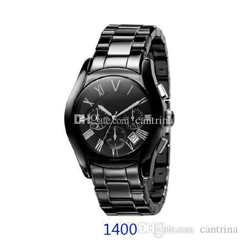 2020 MELHOR PREÇO DE CERÂMICA relógio caixa amantes AR1400 AR1401 AR1403 AR1404 olham ar1410 ar1411 AR1416 AR1417 relógio cronógrafo Original + Certificado